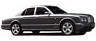 Hire a Bentley Arnage wedding car and chauffeur