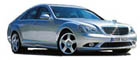 Hire a Mercedes S class wedding car and  chauffeur